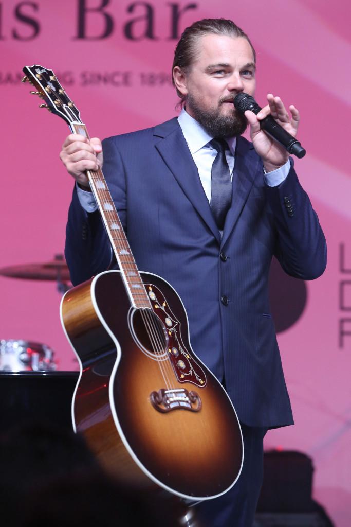Leonardo DiCaprio a Saint Tropez per il gala della Leonardo Dicaprio Foundation
