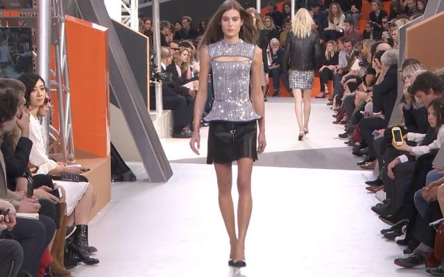 Brilla, brilla! Il top  Louis Vuitton è supershine