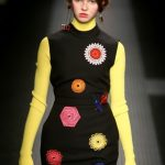 MSGM mini dress con dettagli colorati