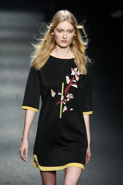 Massimo Rebecchi mini dress con decoro a fiore