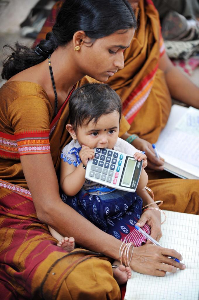 Microcredito India - foto Ugo Panella