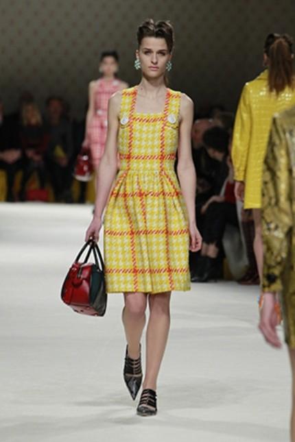 Miu Miu mini dress giallo fluo