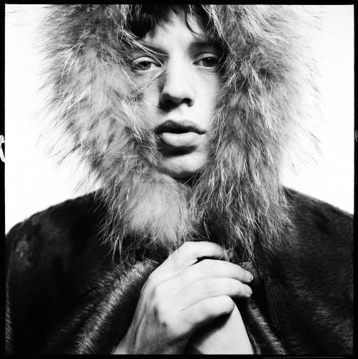 Ritratto di Mick Jagger. David Bailey, mostra Satrdust.