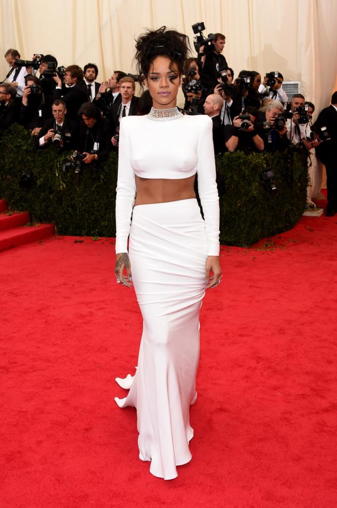 Rihanna sul red carpet del