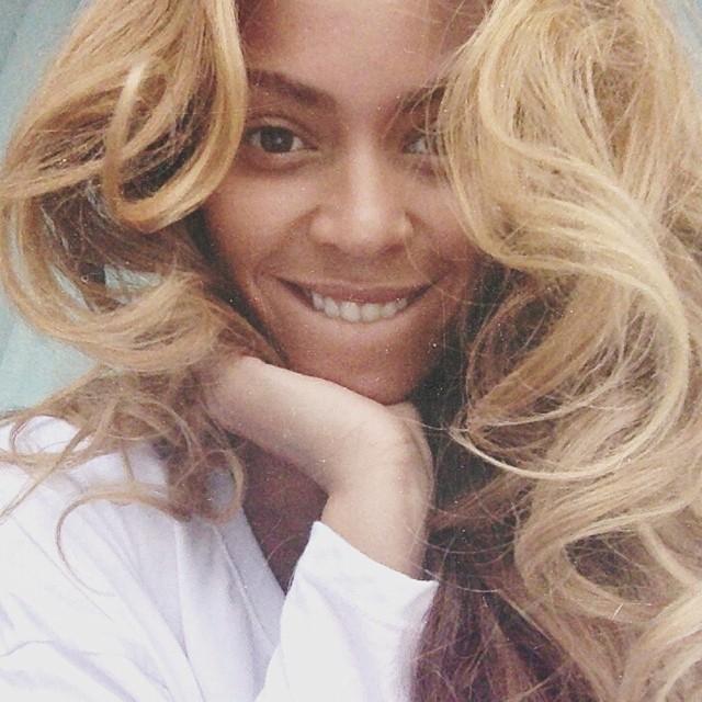 Beyoncé senza makeup