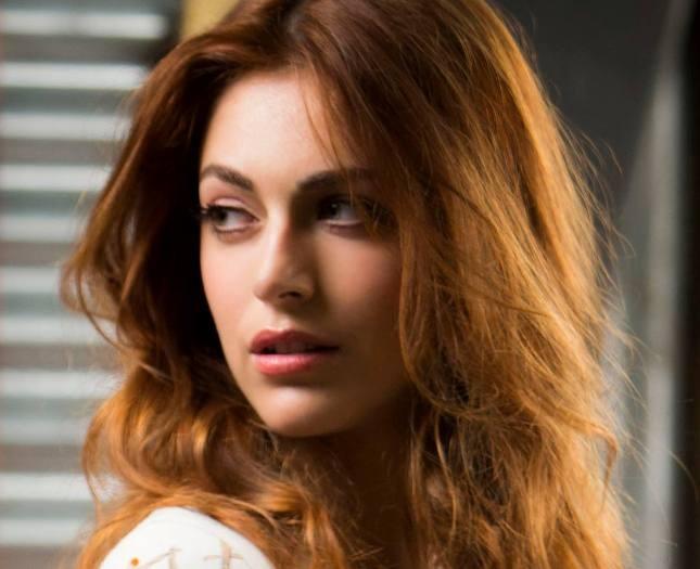 Miriam Leone capelli rosso rame