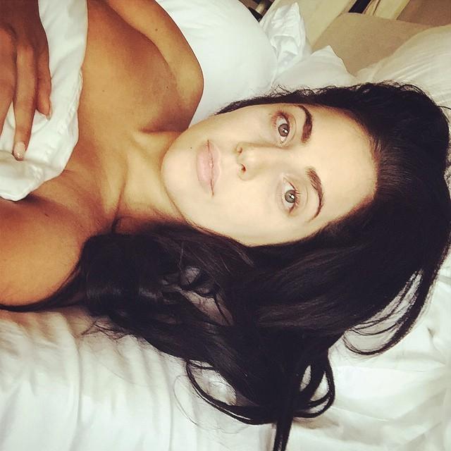 Lady Gaga senza make up