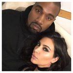 Foto privata della coppia Kim-Kanye pubblicata su Facebook