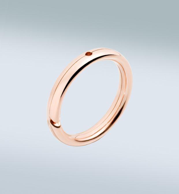 Brisé Ring Dolcissimo… se aggiungi il tuo ciondolo Dodo. Anello brisé in oro rosa 9 kt. È possibile inserire un ciondolo a scelta, che viene venduto separatamente.