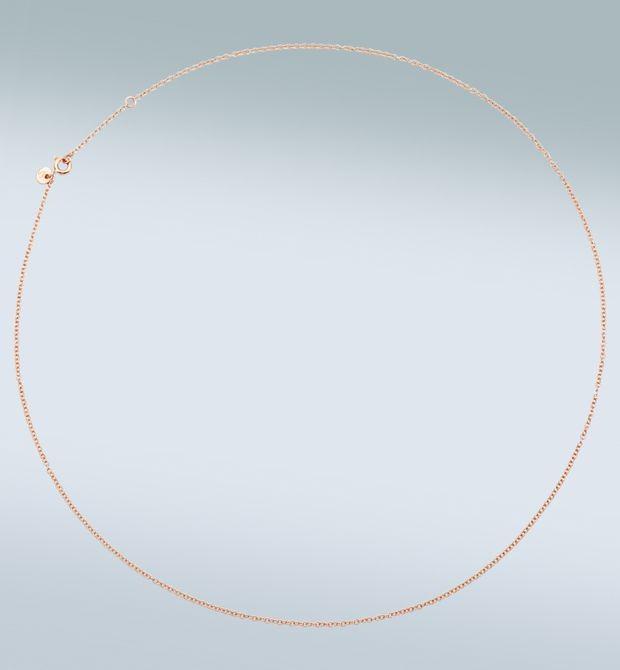 Catenina in oro rosa Mettici un ciondolo Dodo, e portala sempre con te. Catenina in oro rosa 9 kt. Cm 50.