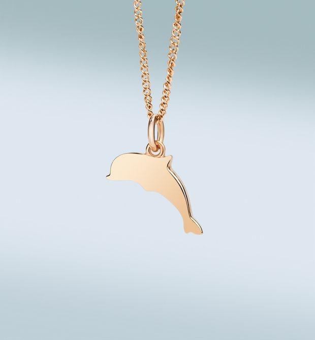 Girocollo Petit Dodo Per sempre compagni, amanti, amici. Oro rosa 9 kt.