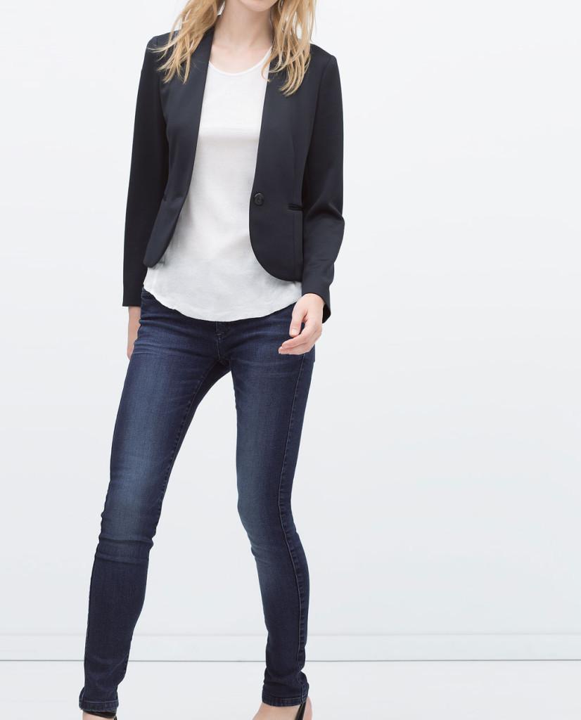 best service 11c6d 37543 In ufficio con i jeans: idee outfit - UnaDonna.it il ...
