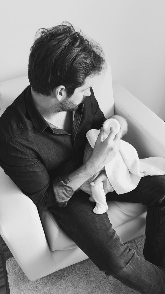 Celeste Trussardi e papà (Michelle Hunziker Twitter)