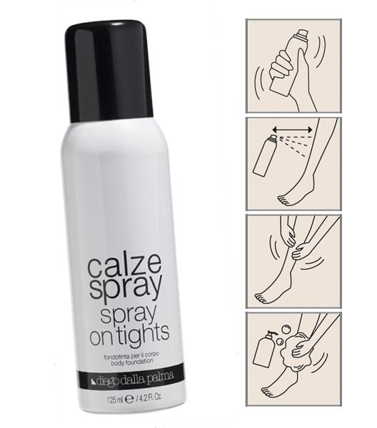 Calze spray di Diego dalla Palma per un effetto impalpabile