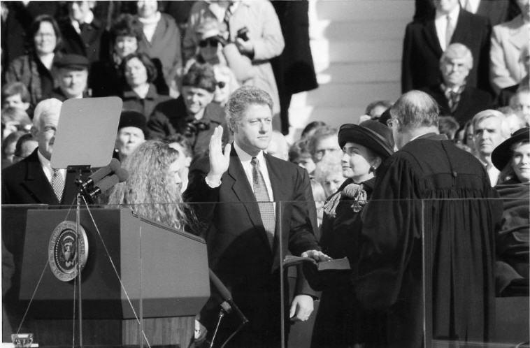 Il Giuramento presidenziale di Bill Clinton nel 1993