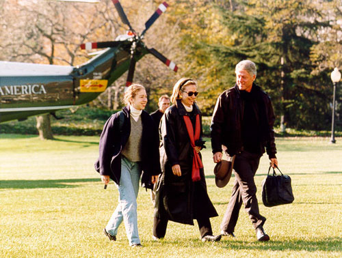 La Famiglia Presidenziale nel 1993