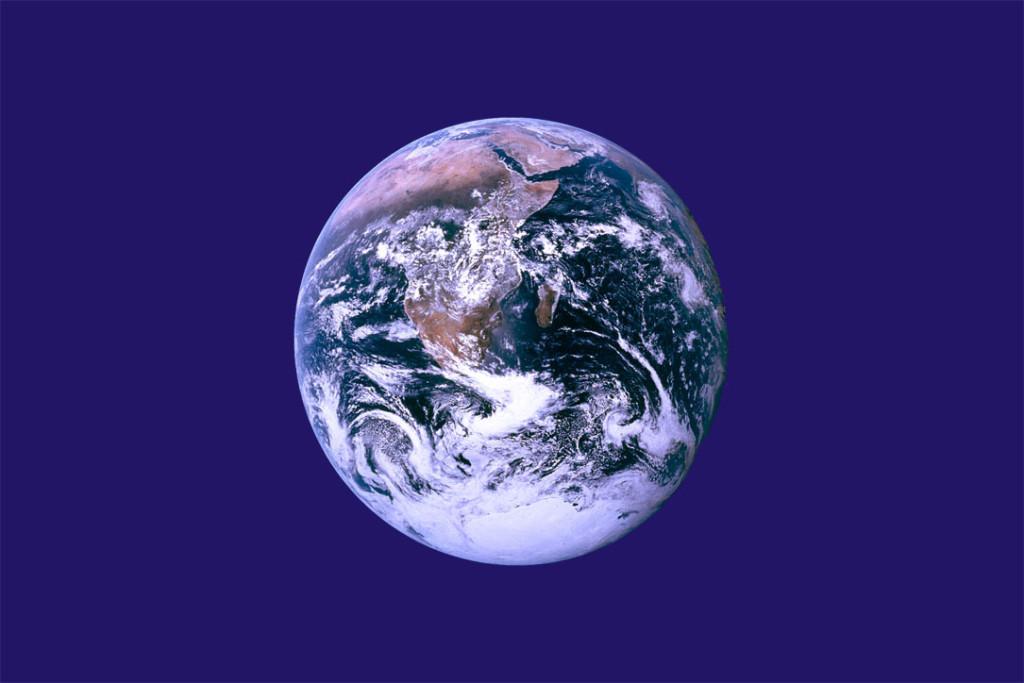 """La bandiera """"unofficial"""" dell'Earth Day di John McConnell"""