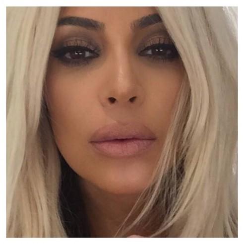 Kim in versione bionda, l'hairlook adottato negli ultimi tempi