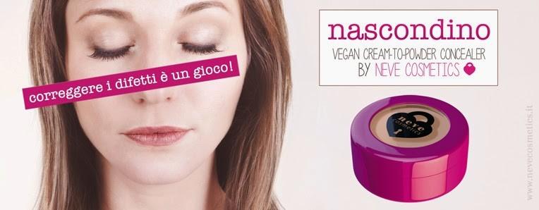 i Neve Cosmetics, noto brand torinese che tocca tutti i settori del makeup: da quello occhi con le pastello a quello labbra con i Dessert à Levrès al mascara o alle creme.