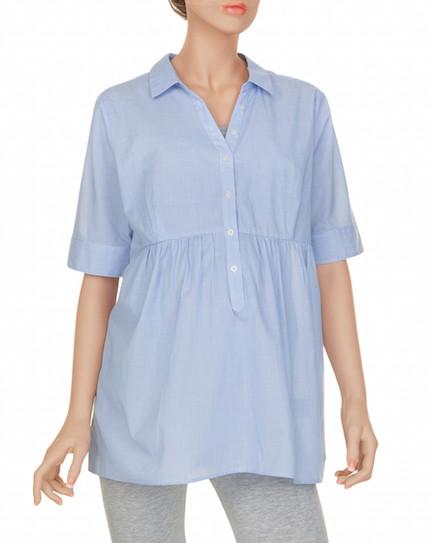 Prenatal camicia a righe con bottoni