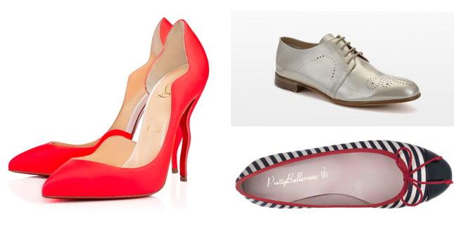 Con il tacco e senza, eleganti e casual, colorate e in tinta unita: tutte le scarpe di tendenza della PE 2015