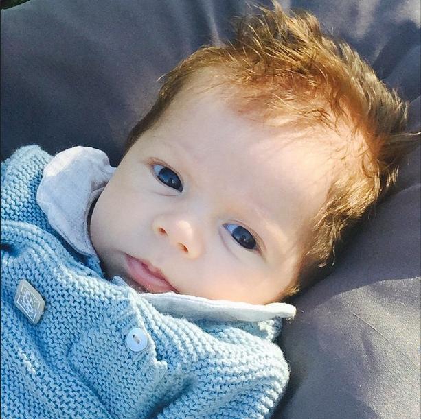 Shasha, secondo figlio di Shakira (Instagram)