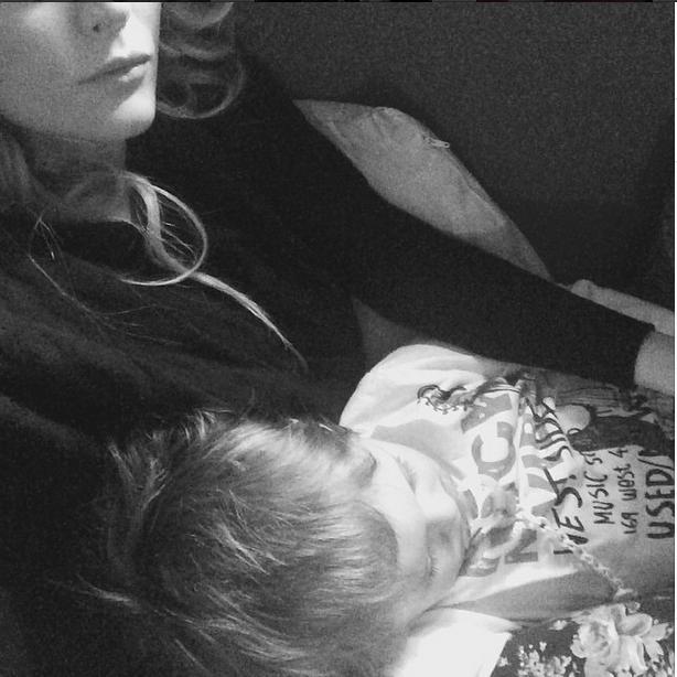 Enea, figlio di Laura Chiatti (Instagram)
