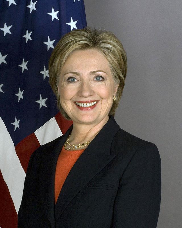 Hillary quando era segretario di Stato nel 2009