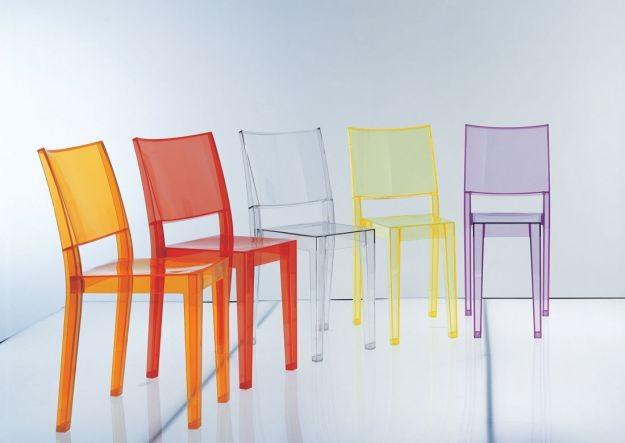Sedie Di Plastica Colorate.Sedie Di Plastica Economiche Ma Con Stile Unadonna It Il