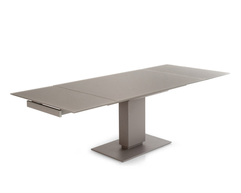 Tavolo Con Gamba Centrale Allungabile tavolo allungabile, come scegliere quello giusto - unadonna