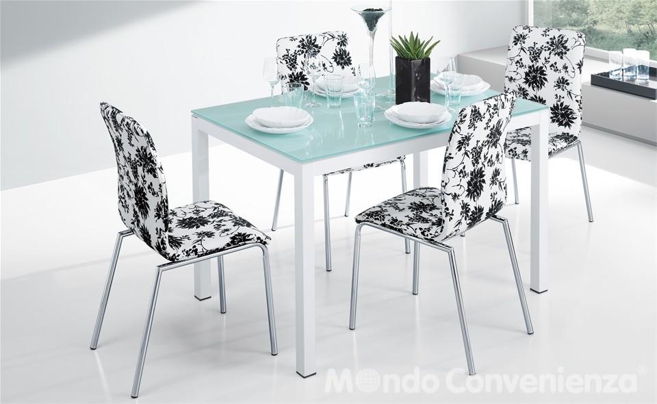 Tavolo Plutone Ikea con piano in vetro satinato allungabile con ...