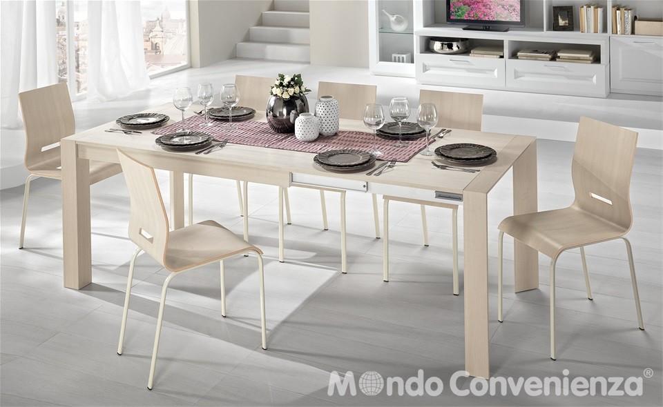 Tavolo wood ikea con ripiano estensibile effetto legno 373 - Tavolo legno ikea ...