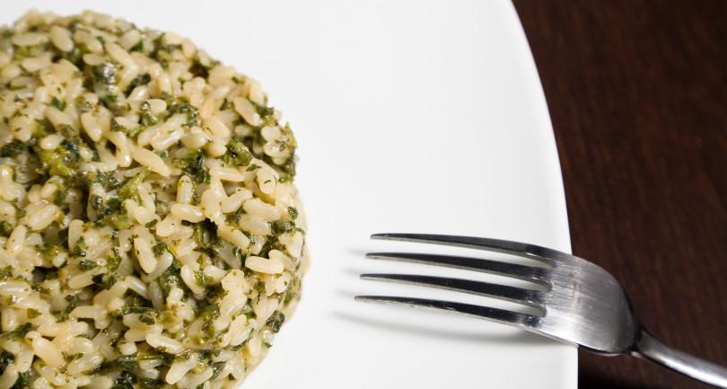 risotto ortica