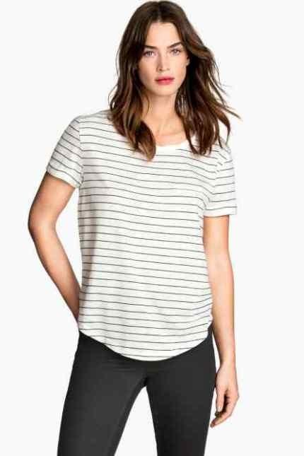 H&M t-shirt a righe
