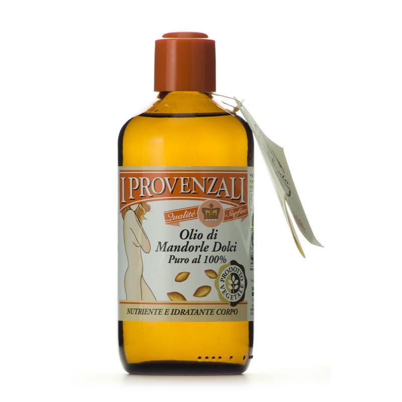 l'olio di Mandorle targato I Provenzali che ha anche potere elasticizzante.