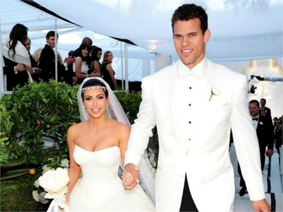 Il matrimonio con il giocatore dell'Nba Kris Humphries