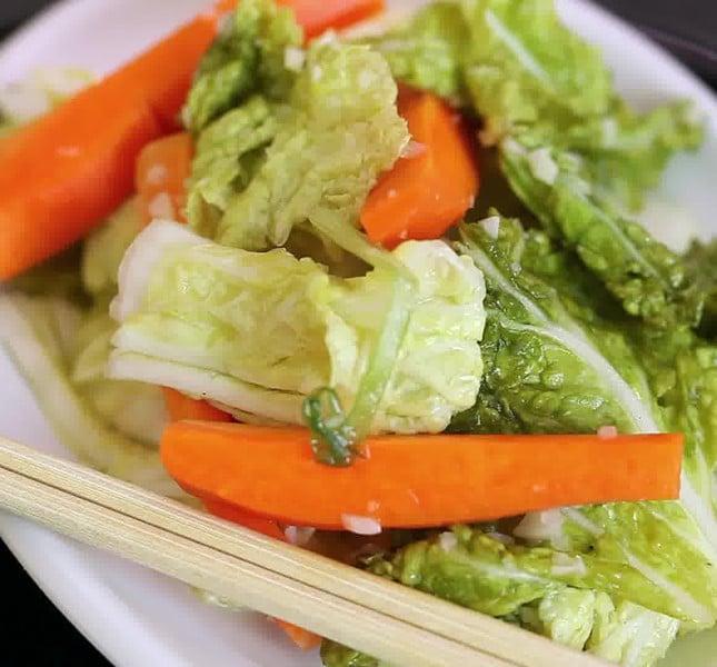 Uno dei segreti della dieta coreana: il kimchi.