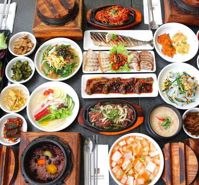 Uno dei segreti della dieta coreana: una dieta a base di verdure, pesce e moluuschi.