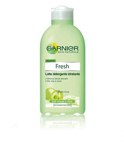 Il lette detergente di Garnier della linea Fresh è ideale per l'estate