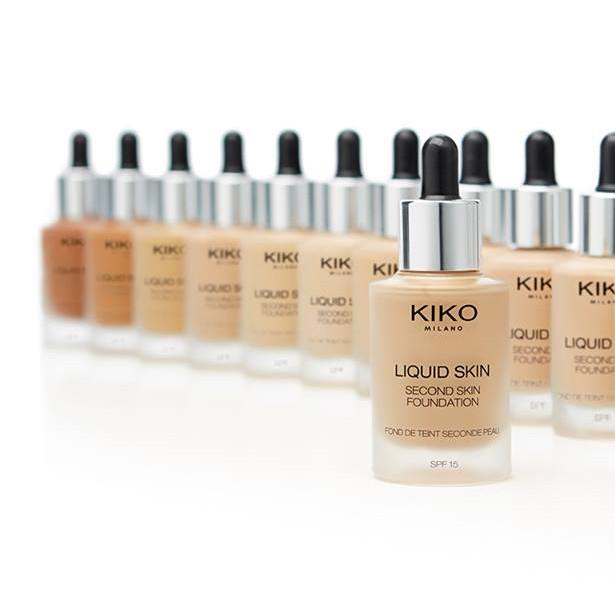 Un'altra novità targata Kiko è il Liquid Skin Foundation