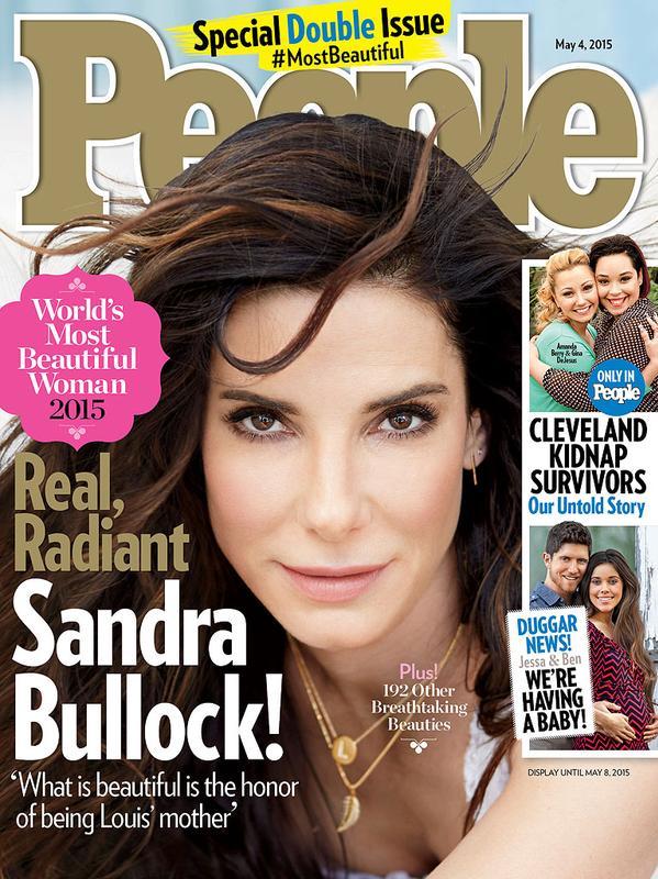 Foto Sandra Bullock sulla cover di People Magazine