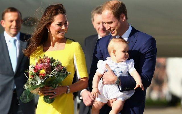 William e Kate genitori