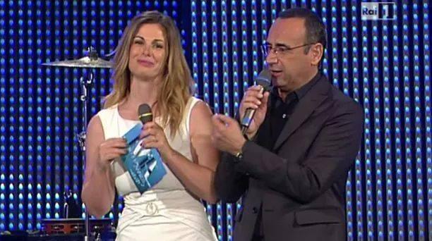 I presentatori dell'edizione 2015: Vanessa Incontrada e Carlo Conti