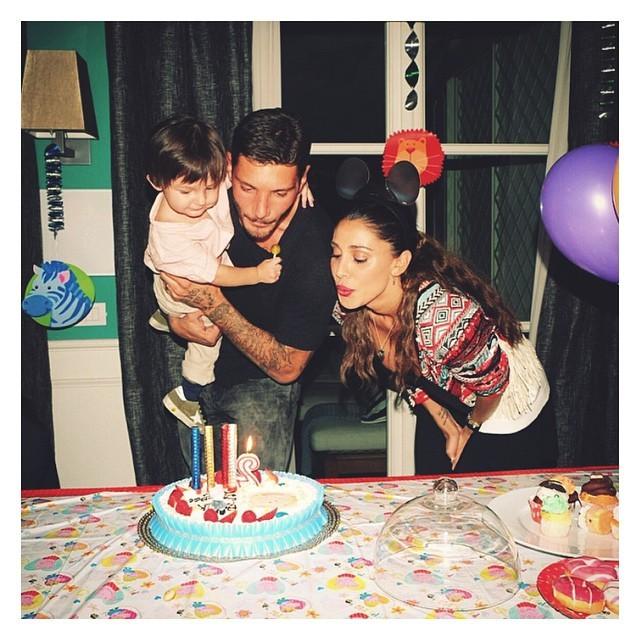 L'ultimo compleanno di Santiago, festeggiato tutti insieme