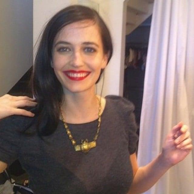 Make Up naturale  con rossetto rosso