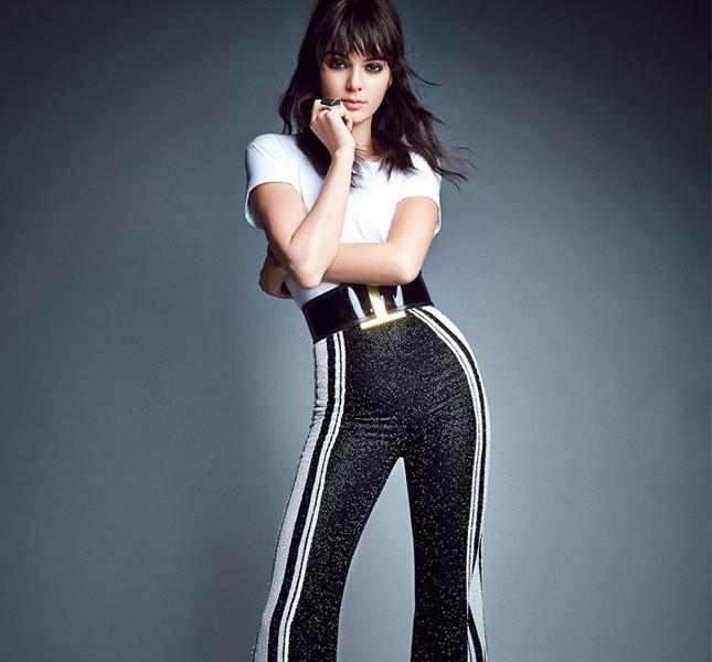 Kendall Jenner in stile vintage