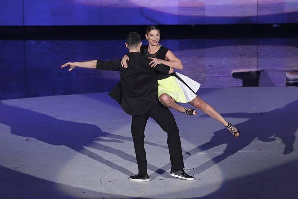 Emma danza nell'ultima puntata di Amici