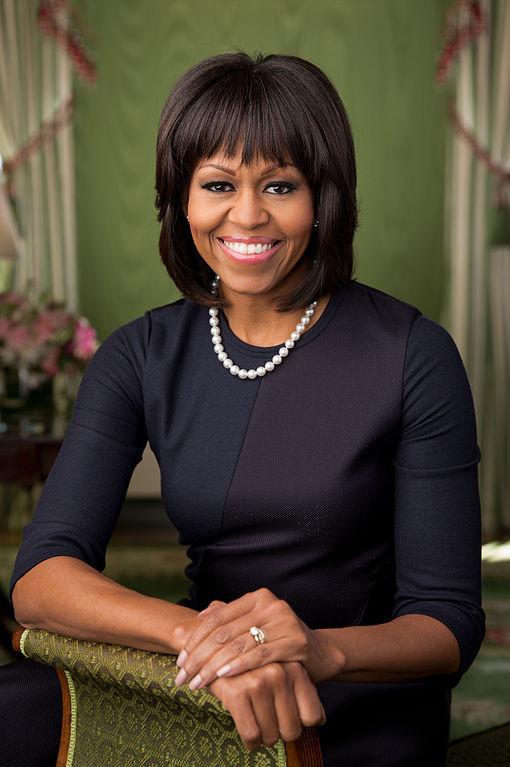 Michelle Obama con la celebre