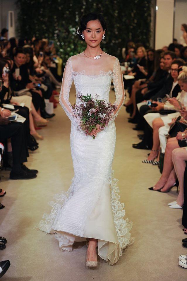 Vestito da sposa modello a sirena