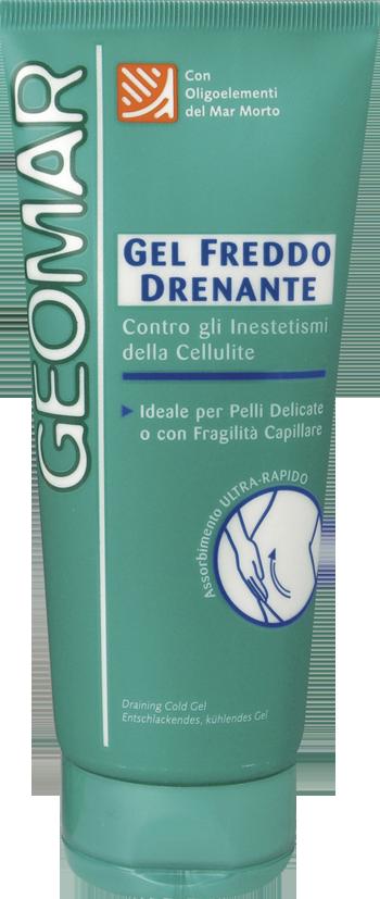 Gel Freddo Drenante Contro gli Inestetismi della Cellulite di Geomar 8€